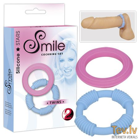Smile cockring-set (0131)