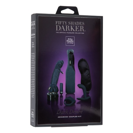 Komplekts Fifty shades darker. Dark desire (1234)