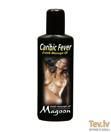 Массажное масло Erotic Massage Oil (0791) Caribic Fever