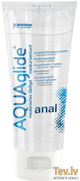 Лубрикант AQUAglide anal (0756) 100ml