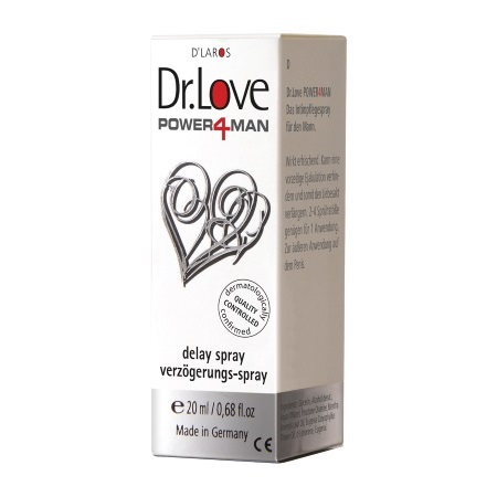 Sprejs Dr.Love power 4 man (0834) 20ml
