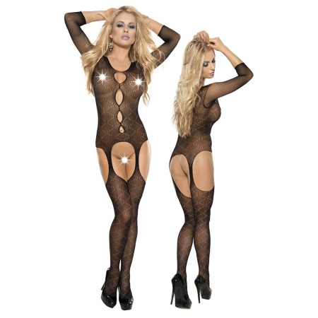 Roxana Fishnet Catsuit [L-XL] (1357)
