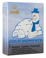 AMOR Cold Moments (0572) prezervatīvi
