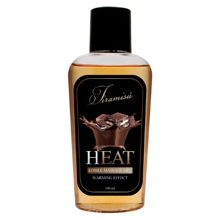 Массажный гель HEAT Tiramisu edible massage gel (0701) 100ml