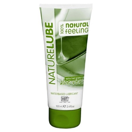 Lubrikants HOT Naturlube (0786) with aloe vera 100ml