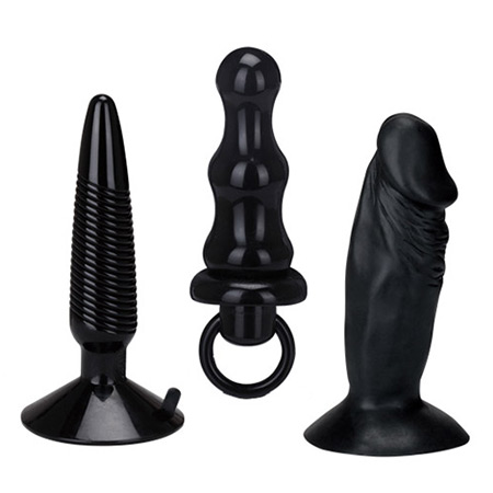 Комплект Humper Butt Plug Set (1197) black
