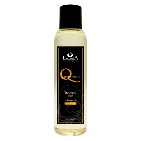 Masāžas eļļa LuxuriA quintessence (0719) tropical sun 125ml