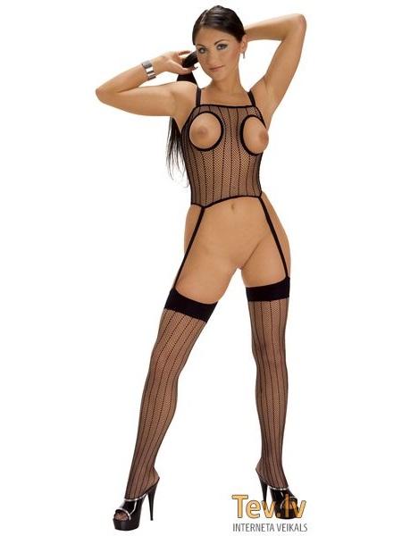 сетчатый костюм в порно