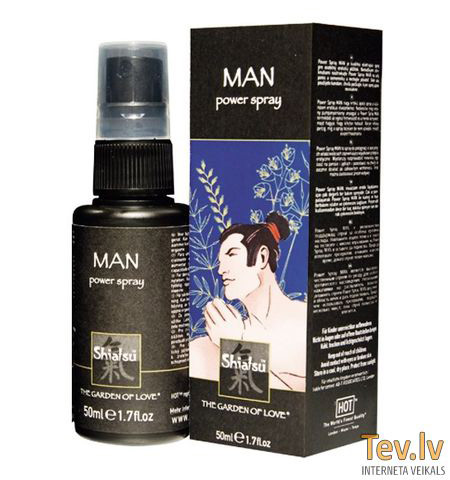Shiatsu Man (0781) Power Spray 50ml