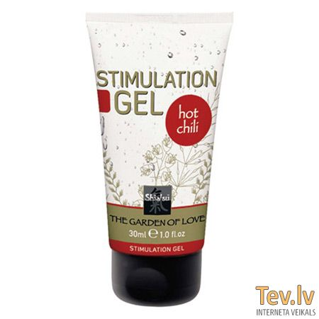 Крем Shiatsu Stimulation gel (0648) Hot Chili 30ml
