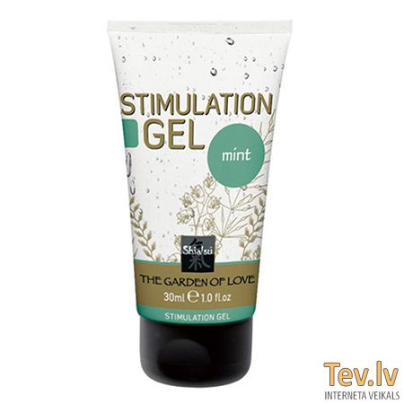 Krēms Shiatsu Stimulation gel (0648) Mint 30ml